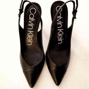 Calvin Klein Black Pump, Size 8
